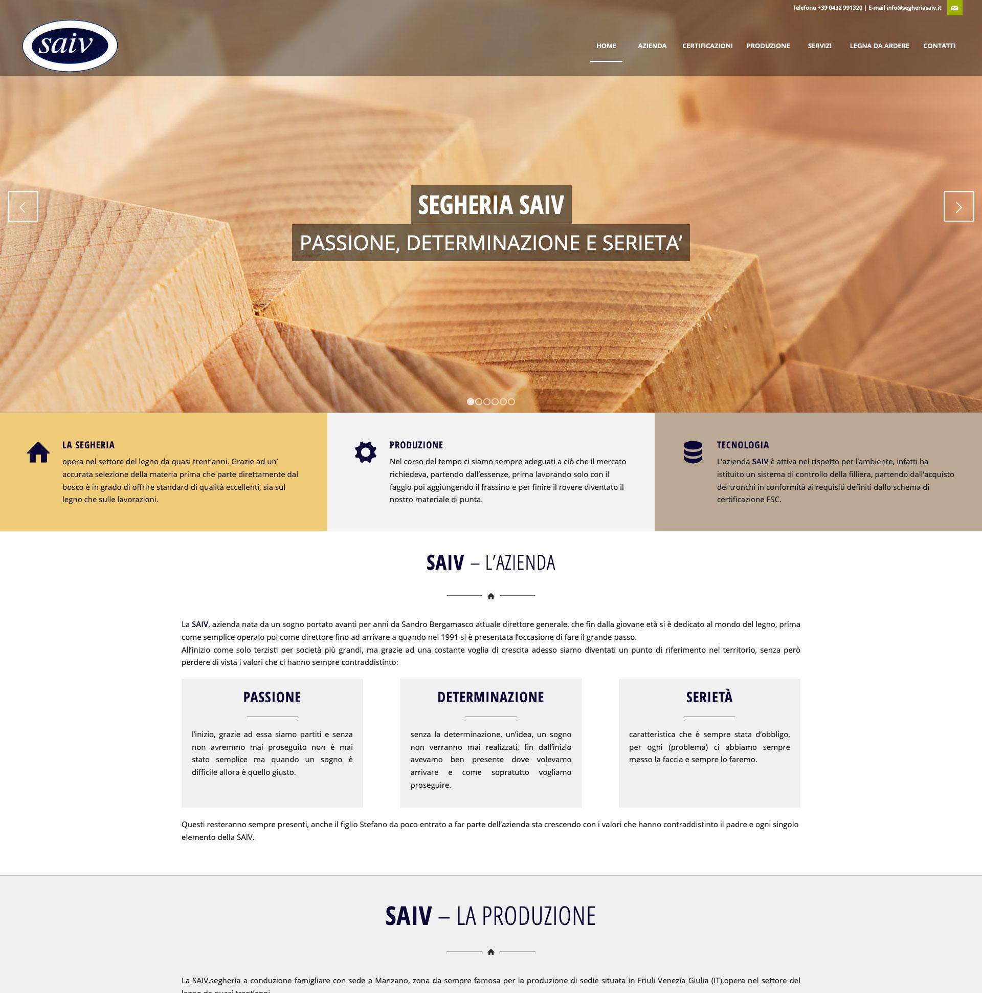 Saiv Affida A Whygroup La Progettazione Del Nuovo Sito Why Group Srl Web Agency Udine Friuli Venezia Giulia